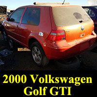 Junkyard 2000 Volkswagen Golf GTI
