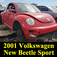 2001 Volkswagen New Beetle Sport