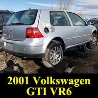 2001 Volkswagen Golf GTI VR6