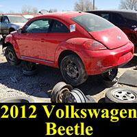 Junkyard 2012 VW Beetle