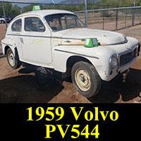 Junkyard 1959 Volvo PV544