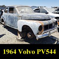 Junkyard 1964 Volvo PV544