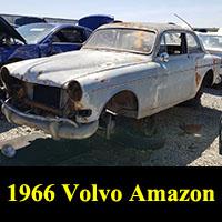 Junkyard 1966 Volvo 122S