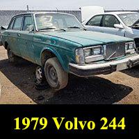 Junkyard 1979 Volvo 244