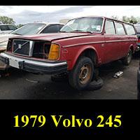Junkyard 1979 Volvo 245