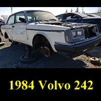 Junkyard 1984 Volvo 242