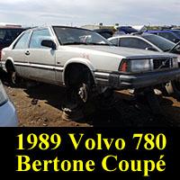 Junkyard 1989 Volvo 780 Bertone