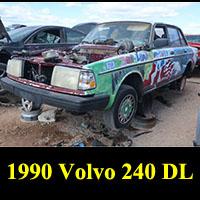 Junkyard 1990 Volvo 244