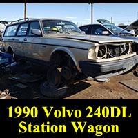 Junkyard 1990 Volvo 245