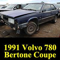 Junkyard 1991 Volvo 780 Coupe