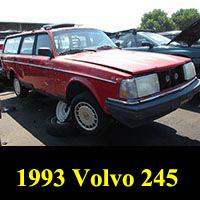Junkyard 1993 Volvo 240 Wagon