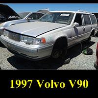 Junkyard 1997 Volvo V90 Wagon