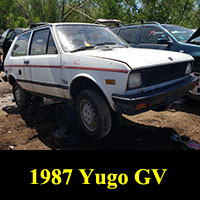 Junkyard 1987 Yugo GV