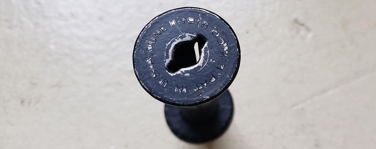 Kodak No. 00 film spool