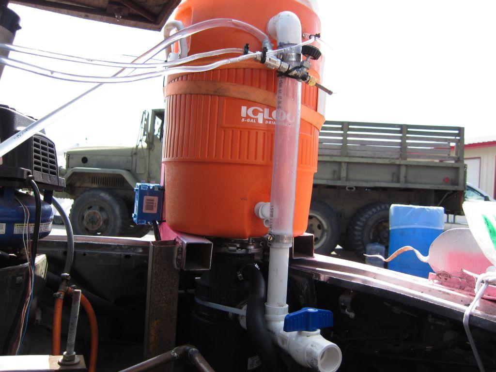 home made margarita machine garbage disposal